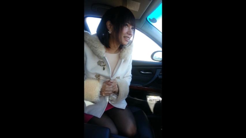 【完全素人】顔出し!トラブル続出!かわいいあの子が車内フェラからのゴックン!【個人撮影】