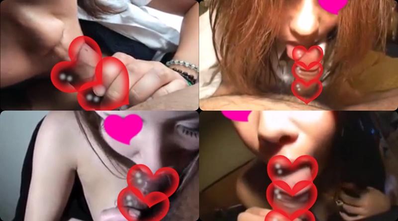 【素人動画】おクチやりまん可愛い娘たちのフェラチオ特集 ごっくん ぶっかけ ディープスロート