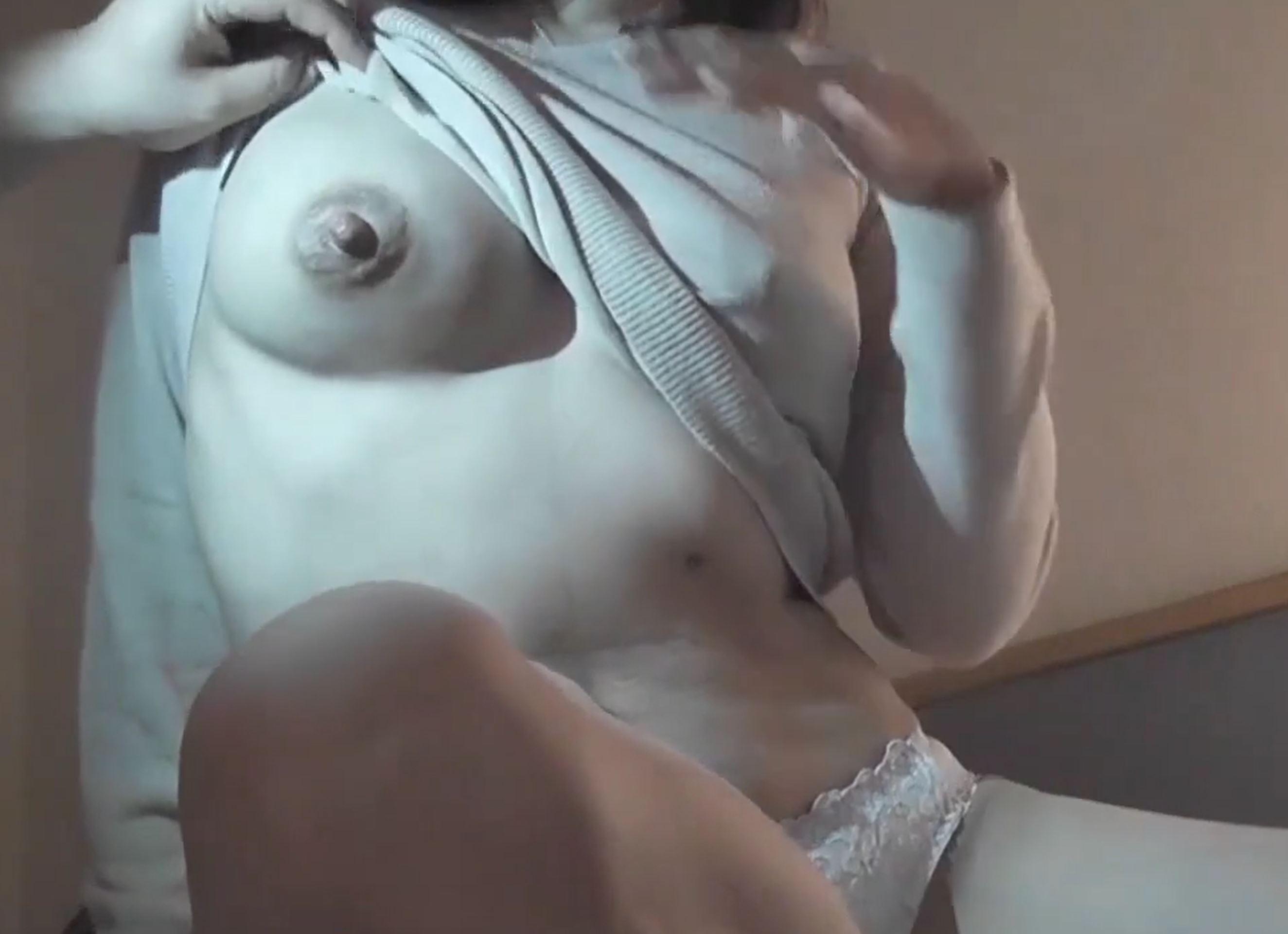 【個人撮影】寝取られ専用美人妻、ホテルでエロ調教され乳搾り