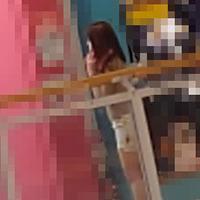 【無修正x個人撮影】人の奥さん 旦那と買い物中に呼び出して中出しSEXの後で旦那へRelease!!