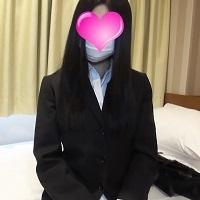 【個人撮影】色白黒髪で、上品な雰囲気の綺麗な就活生の怜香ちゃんに中出し!【妄想動画】